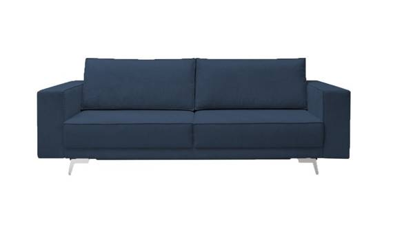 Sofa do spania Lund granatowa
